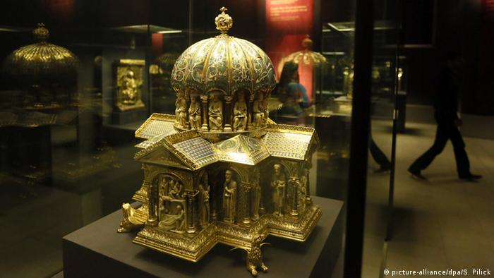 Guelph Treasure at the Bode-Museum in Berlin, Copyright: picture-alliance/dpa/S. Pilick