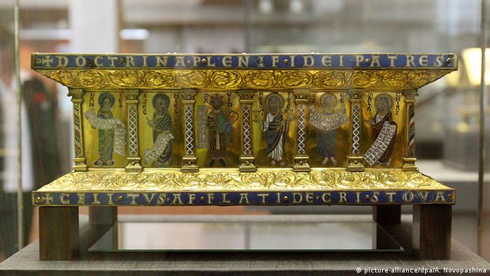 Guelph Treasure at the Kunstgewerbemuseum in Berlin, Copyright: Alina Novopashina dpa/lbn