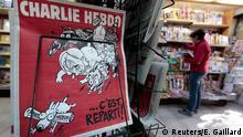 Frankreich Charlie Hebdo Ausgabe C'est Reparti!