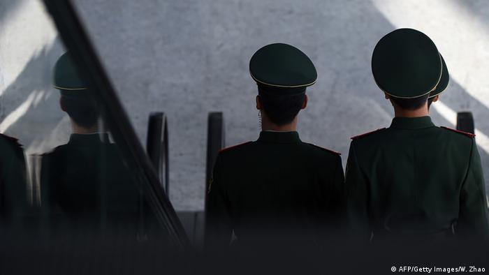 Symbolbild Chinesische Polizisten