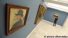 KünstlerBilder in der Pinakothek in München