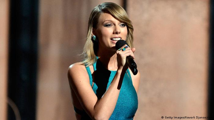 Taylor Swift will release a concert video of 1989 through Apple Music. Copyright: Kevork Djansezian/Getty Images