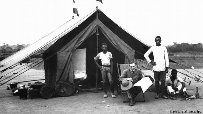 Deutscher Regierungsbeamter in Kamerun (Foto: dpa)