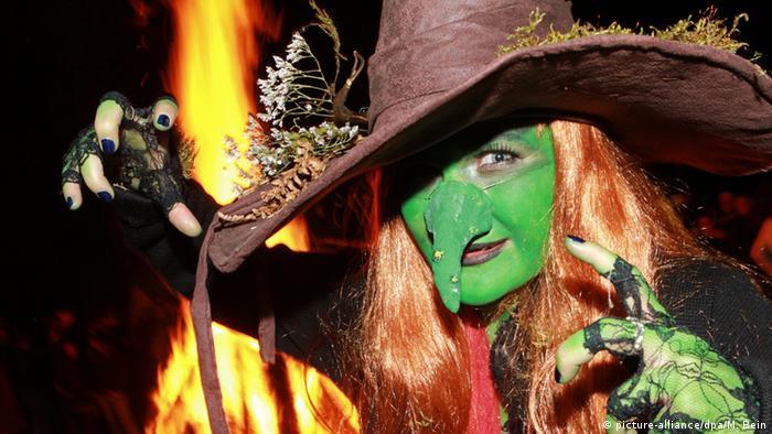 Ведьма на горе Броккен