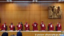 Deutschland Bundesverfassungsgericht Symbolbild
