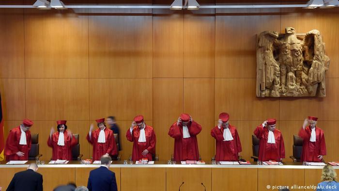 Federalny Trybunał Konstytucyjny w Karlsruhe zbada nazistowskie kariery swoich sędziów
