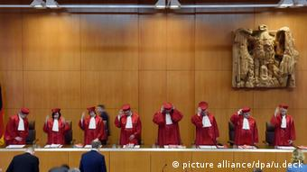 German Constitutional Court in Karlsruhe (Photo: Uli Deck/dpa)