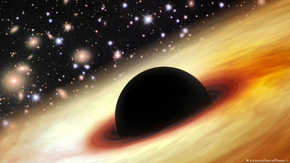 Astronomers discover supermassive black hole | DW | 26.02.2015