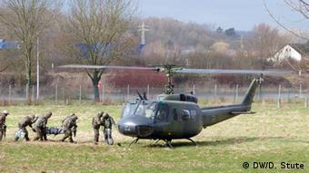 Солдати Бундесверу під час навчань