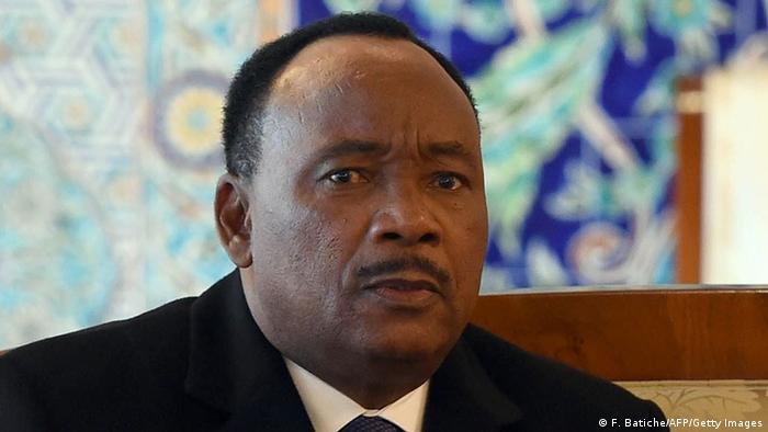 Niger Präsident Mahamadou Issoufou (F. Batiche/AFP/Getty Images)