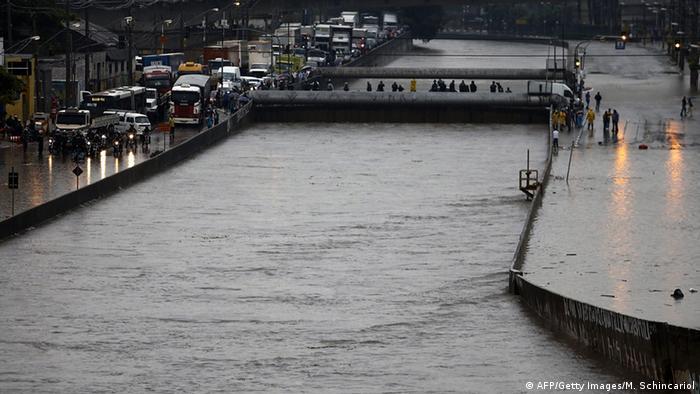 Brasilien Überschwemmungen in Sao Paulo (AFP/Getty Images/M. Schincariol)