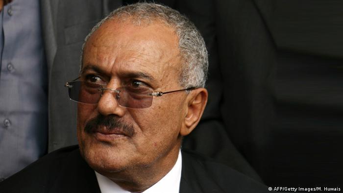 Jemen Ali Abdullah Saleh Ex-Präsident (AFP/Getty Images/M. Huwais)