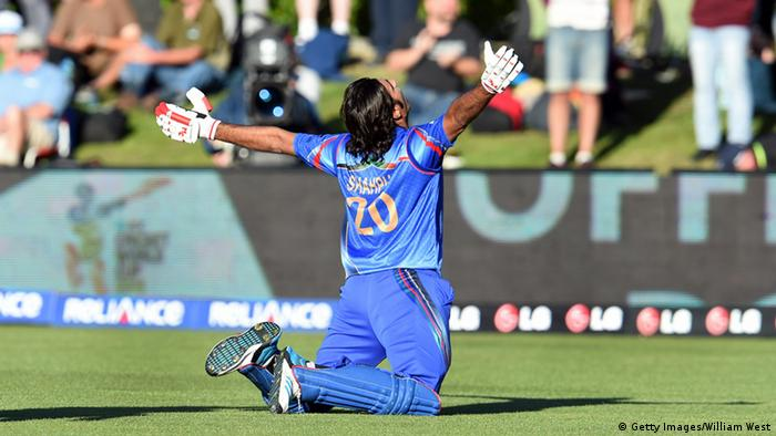 Cricket World Cup 2015 Afghanistan Schottland Shapoor Zadran (Getty Images/William West)