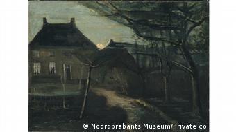 Casa parroquial y estudio de pintura a la derecha.