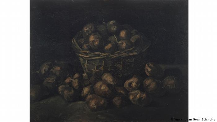 A painting of potatoes