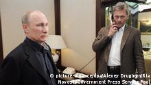 Putins Sprecher Dmitri Peskow