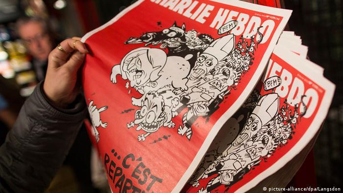 Neue Charlie Hebdo Ausgabe veröffentlicht