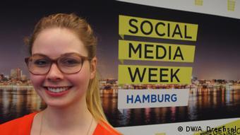 Startup founder Miriam Bundel<br /> Copyright: DW/A. Drechsel