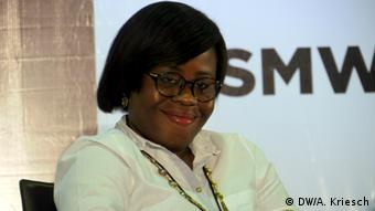 Startup founder Ugochi Ugborneh<br /> Copyright: DW/A. Kriesch