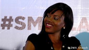 Startup founder Nigeria Lola Olusola<br /> Copyright: DW/A. Kriesch