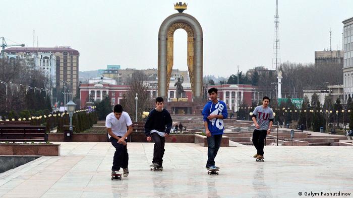 Скейтеры, Таджикистан, Душанбе