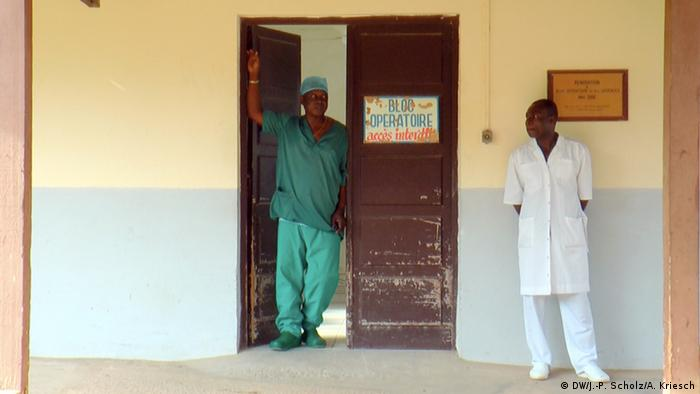 Gabun Albert Schweitzer Krankenhaus in Lambarene
