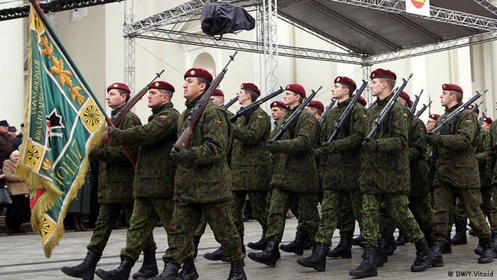 Парад литовской армии