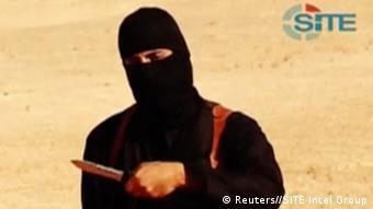 Videostill Mohammed Emwazi alias Dschihadi John