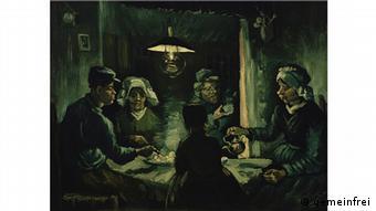 Los comedores de papas se halla en el Museo Kröller-Müller en Holanda.