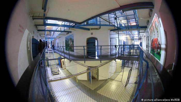 Deutschland Justizvollzugsanstalt in Magdeburg