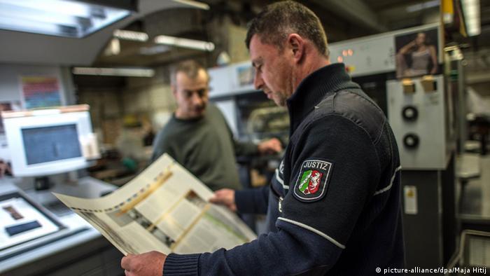 Deutschland Justizvollzugsanstalt in Willich