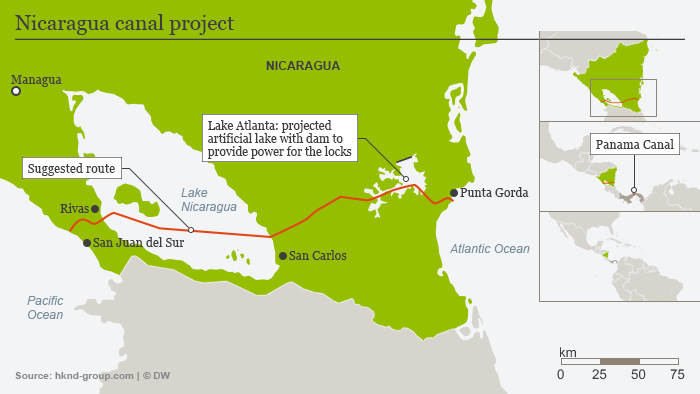 Nicaragua Canal Connects Oceans Divides People News Dw 26022015