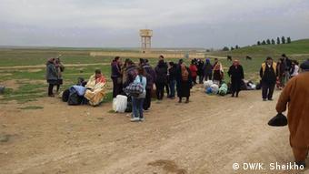 Syrien, Christen auf der Flucht
