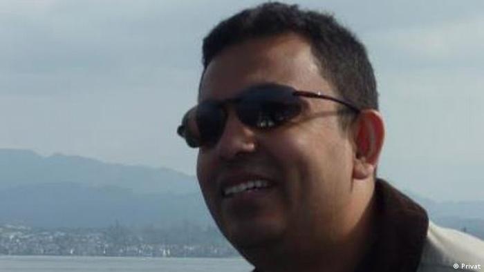 Blogger Avijit Roy ###ACHTUNG SCHLECHTER QUALITÄT### (Privat)