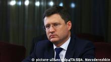 Russland Alexander Nowak Energieminister