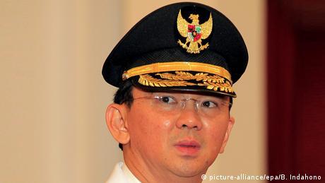 Indonesien Basuki Tjahaja Purnama Guverneur von Jakarta