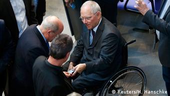Deutschland Bundestag Debatte Griechenland Hilfe Abstimmung Wolfgang Schäuble