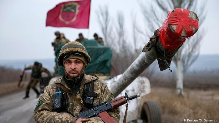 Ukraine Rückzug der Armee aus Ostukraine