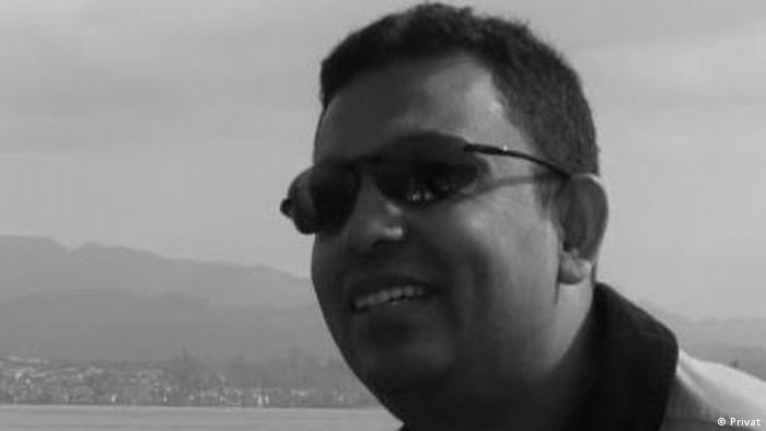 Blogger Avijit Roy ###ACHTUNG SCHLECHTER QUALITÄT###