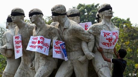 Bangladesch Protest gegen Ermordung von US-Blogger (Bildergalerie)