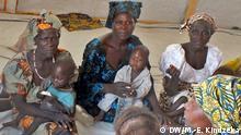 Auf dem Bild: Bilder aus dem Flüchtlingslager Minawao in Kamerun, an der nördlichen Grenze zu Nigeria. Foto: Moki Edwin Kindzeka / DW