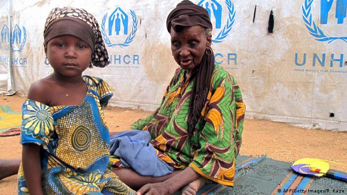 Kamerun Flüchtlingslager Minawao