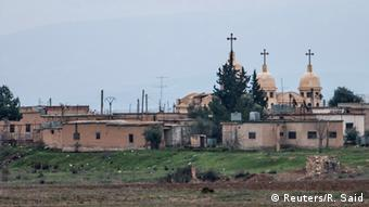 The Assyrian village of Abu Tina in Syria.