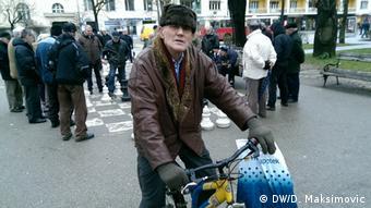 Radenko Lakić iz Banjaluke živi od penzije koja iznosi oko 150 KM
