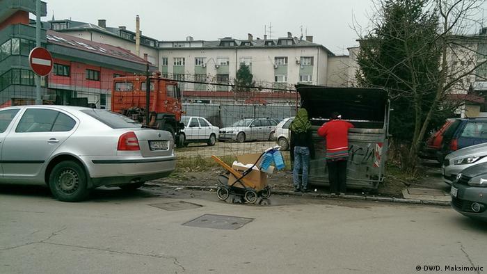 Armut in Bosnien Herzegowina (DW/D. Maksimovic)