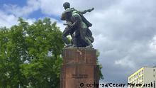 Denkmal der sowjetisch-polnischen Waffenbrüderschaft