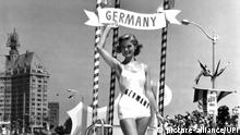 Miss Germany 1957 Gerti Daub (picture-alliance/UPI)