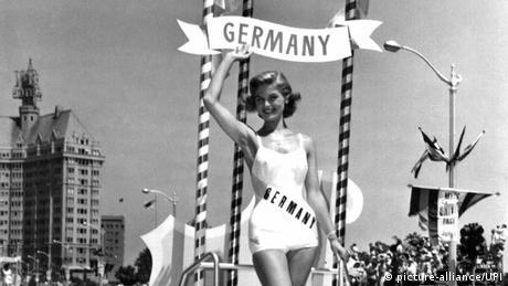 Miss Germany 1957 Gerti Daub