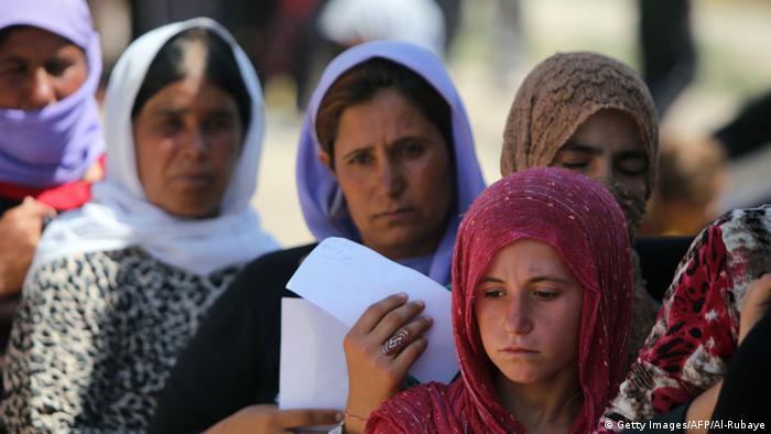 Irak Kurdistan Jesiden Flüchtlinge Frauen