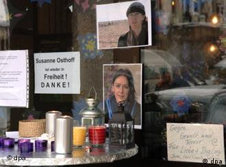 Thank you! - Relief and gratitude in Germany following Osthoff's release